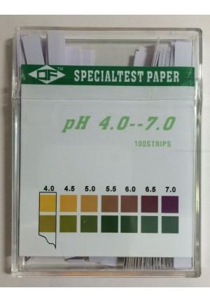 Paski wskaźniki do badania PH pochwy 4.0-7.0 100szt/op