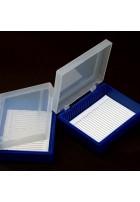Pudełko na szkiełka cytologiczne / mikroskopowe pojemność 25szt - 1 opak.
