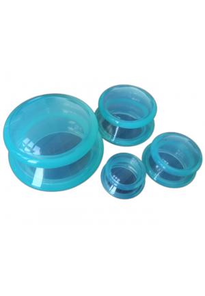 Bańki silikonowe (komplet 4szt.)