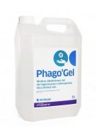 Phago`Gel 5L, alkoholowo-wodny żel do higienicznej i chirurgicznej dezynfekcji rąk, 1szt