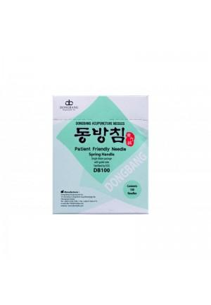 Igła do akupunktury Dongbang ze stalowym uchwytem i prowadnicą 100szt/op