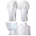 Fartuch ochronny 40G/m2, rozm. M/L, kolor biały, 1szt