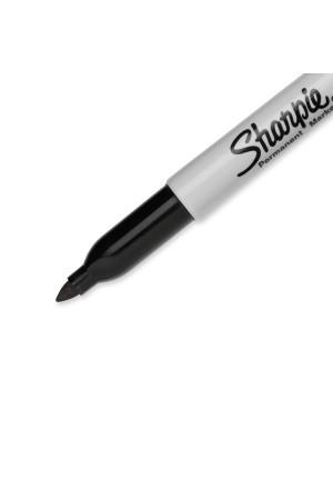 Sharpie Fine 2szt/opak - czarny marker laboratoryjny.