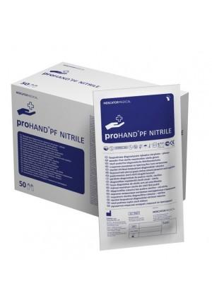 Rękawice nitrylowe ProHAND® PF NITRILE