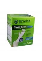 Rękawice chirurgiczne lateksowe bezpudrowe, jałowe, 1para