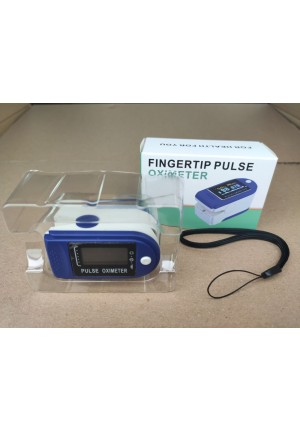 Pulsometr, oksymetr napalcowy, pulse oximeter, 1szt.