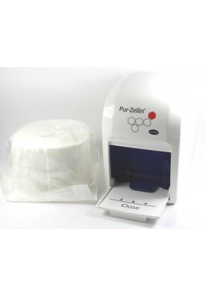 Hartmann bezpyłowe, sterylne waciki celulozowe Pur-Zellin, 4x5cmx500szt w rolce , 1opak