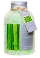 Zapachowa sól do kąpieli Bambus, 670g