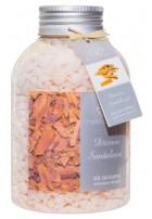 Zapachowa sól do kąpieli Drzewo Sandałowe, 670g